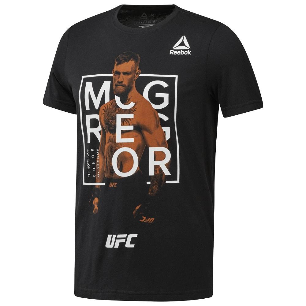 Купить Футболка UFC/Reebok FG Mcgregor Fighter T, 5243_bk