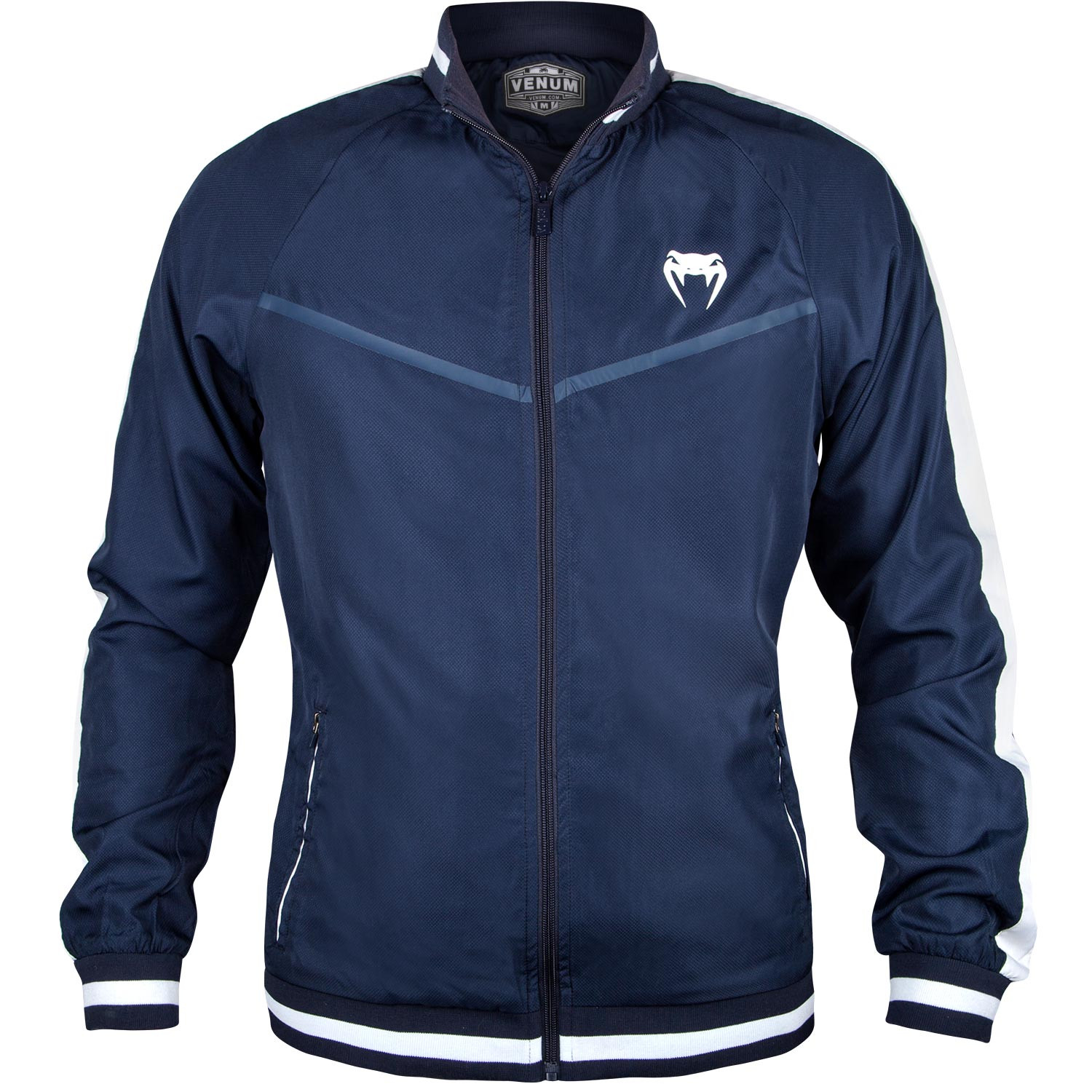 Купить Олимпийка Venum Club Track Jacket - Navy Blue, 5257_bl