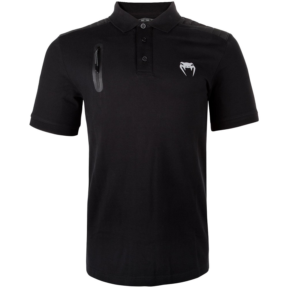 Футболка Venum Laser Polo - Black