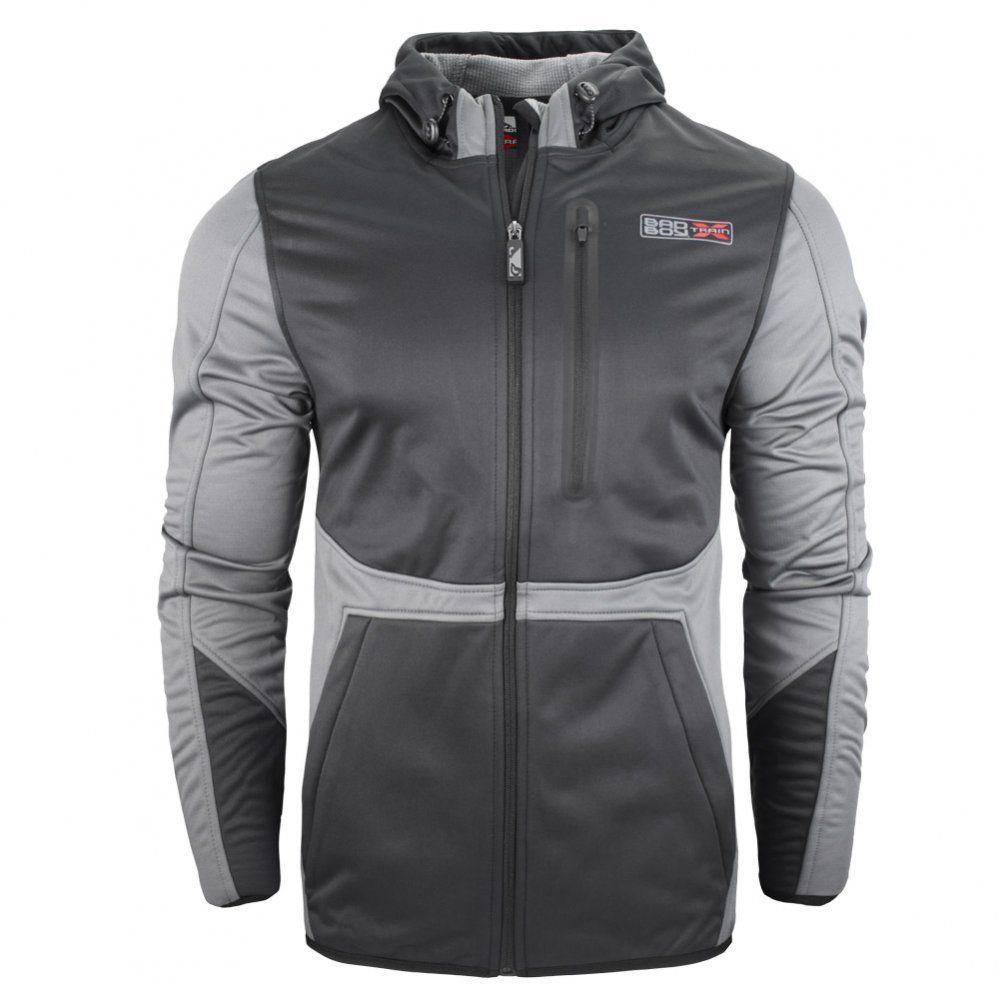 Купить Куртка Bad Boy X-Train Bonded Jacket - Black/Grey, 6166_bk_gy