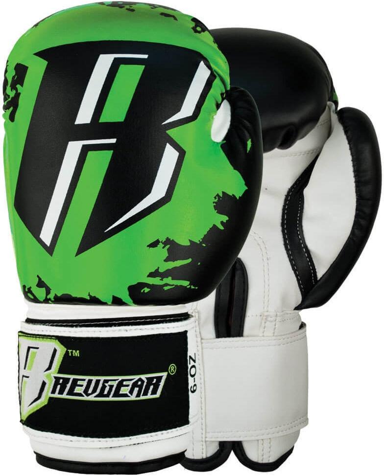Купить Детские перчатки Revgear Kids Deluxe Boxing Gloves Green, 6007_bk_gr