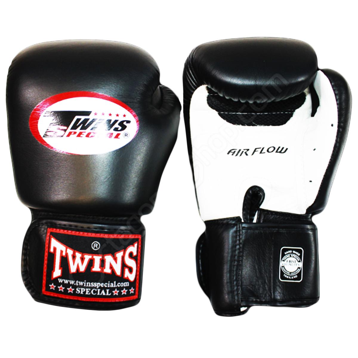 Купить Перчатки для бокса Twins Special BGVLA-2 Black/White, 3704_bk_wh