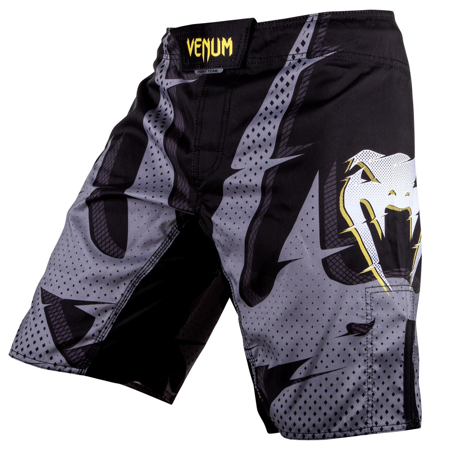 Купить Шорты Venum Interference Fightshorts - Black/Grey, 4403_bk_gy