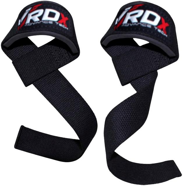 Купить Ремень для турника RDX Training Gym Straps Weight Lifting, 9970_bk