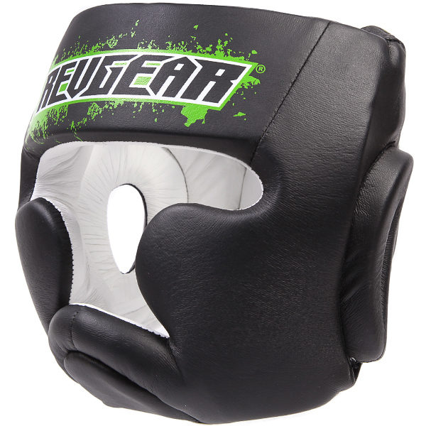 Купить Шлем для детей Revgear Kids Boxing Head Guard Green, 6003_bk_gr