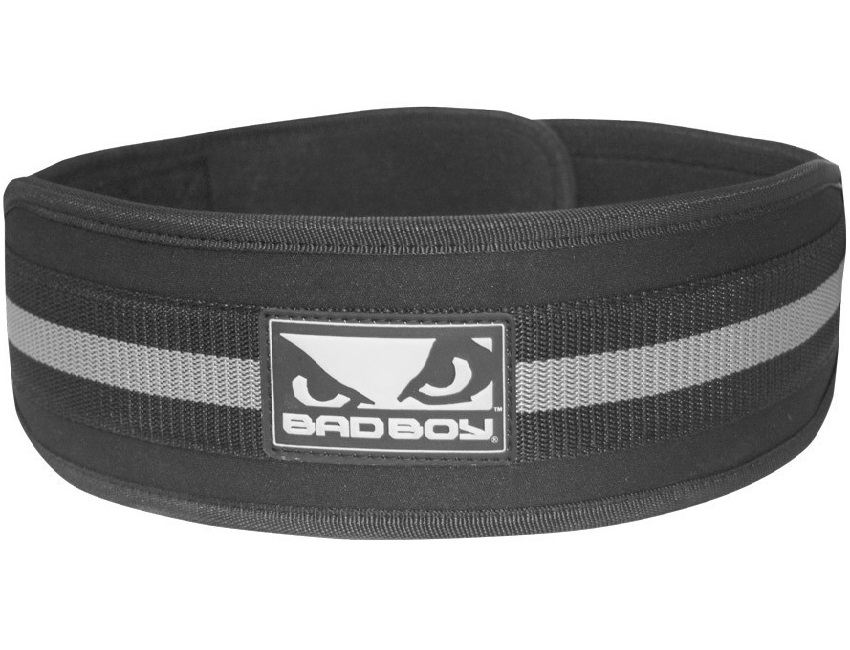 Купить Пояс для спины Bad Boy 4 Inch Lifting Belt - Black/Grey, 5346_bk_gy
