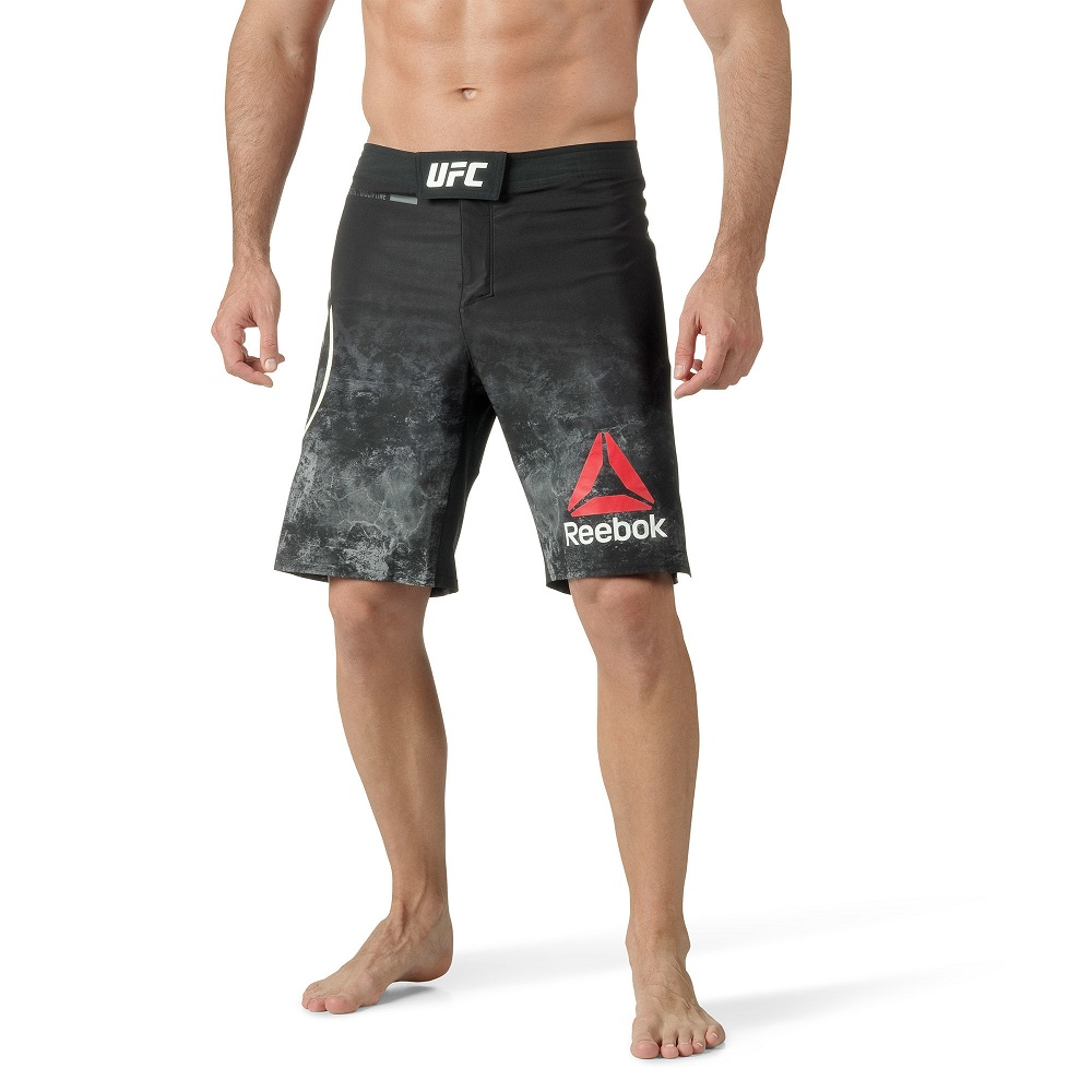 Купить Шорты UFC/Reebok Fight Night Blank Octagon Black, 5007_bk