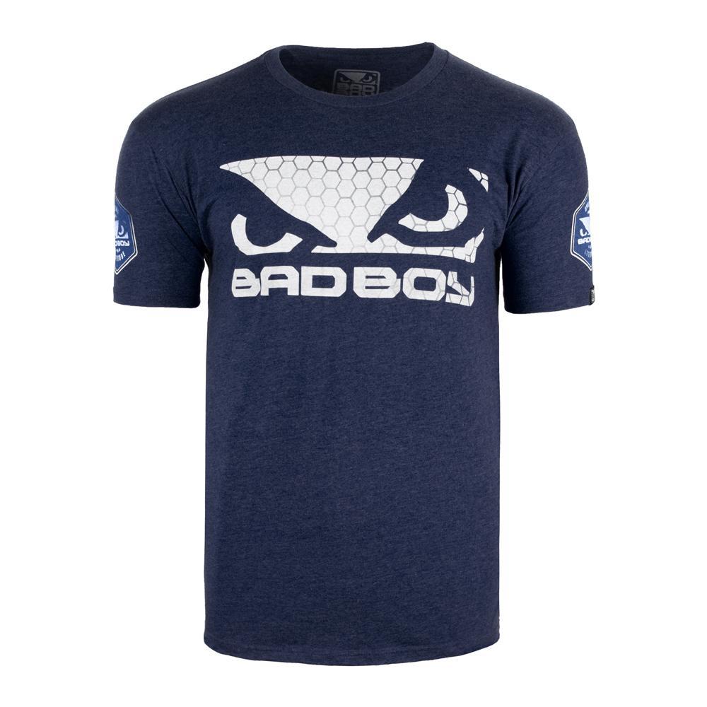 Купить Футболка Bad Boy Prime Walkout T-shirt Navy/White, 5651_bl