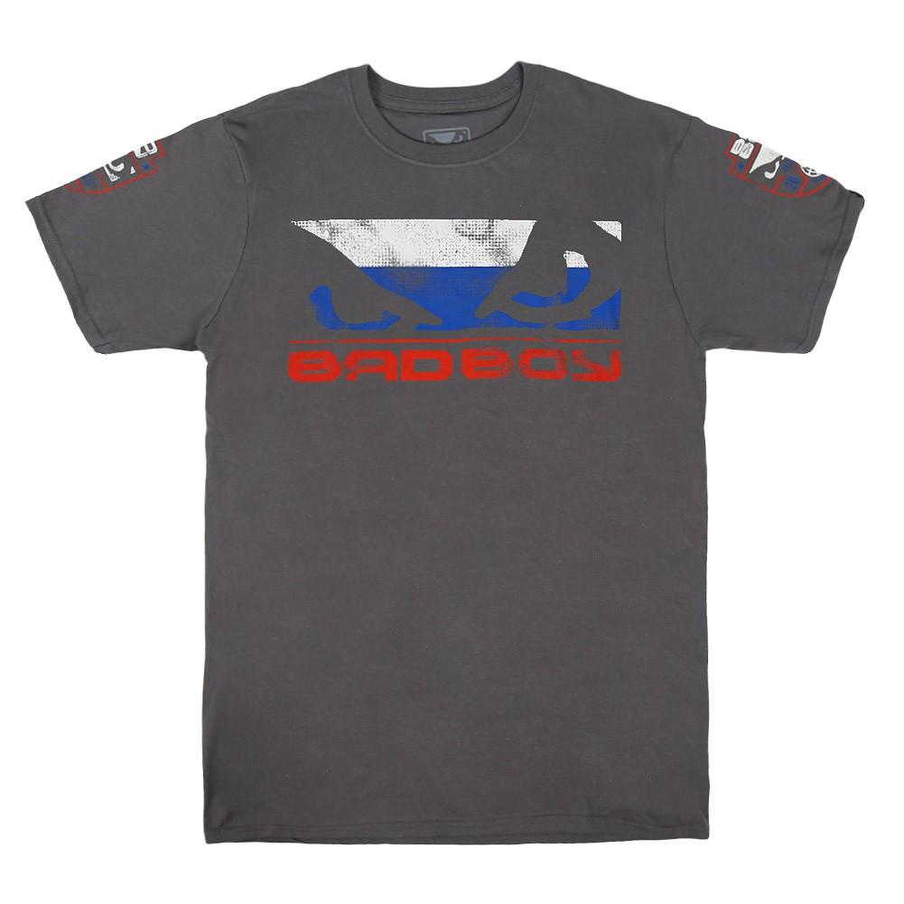 Купить Футболка Bad Boy Pride T-shirt - Russia Special Edition, 4324_gy