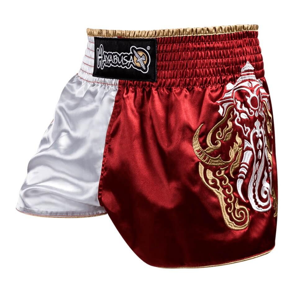 Купить Шорты Hayabusa Wisdom Muay Thai Shorts - Red, 4586_rd_wh