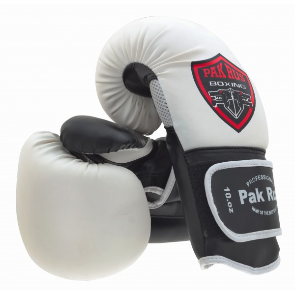 Купить Перчатки боксерские Pak Rus White, 4941_wh