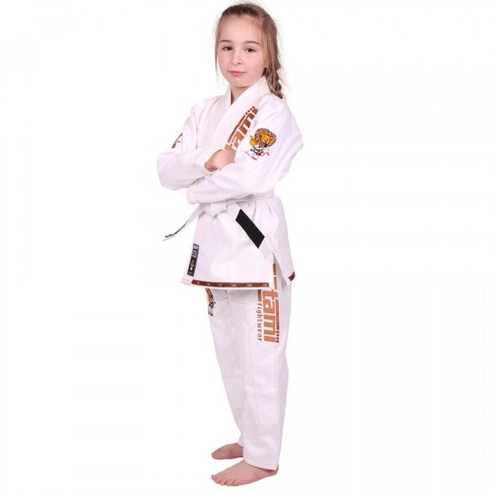 Купить Детское кимоно Tatami Meerkatsu Kids Animal Gi - White, 4391_wh