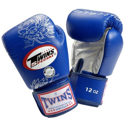 Купить Перчатки для бокса Twins Special FBGV-6S Boxing gloves (Blue), 9916_bl_sl