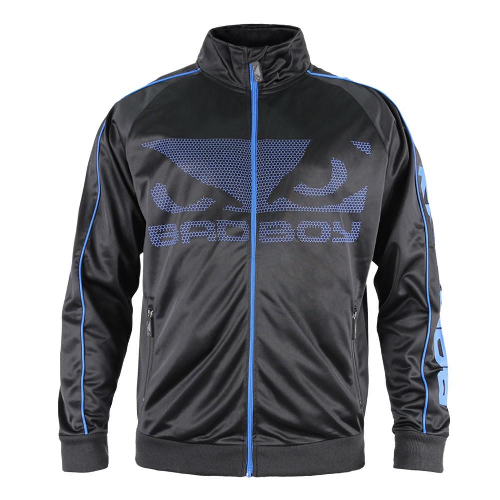 Купить Олимпийка Bad Boy All Around Track Jacket - Black/Blue, 4266_bk_bl