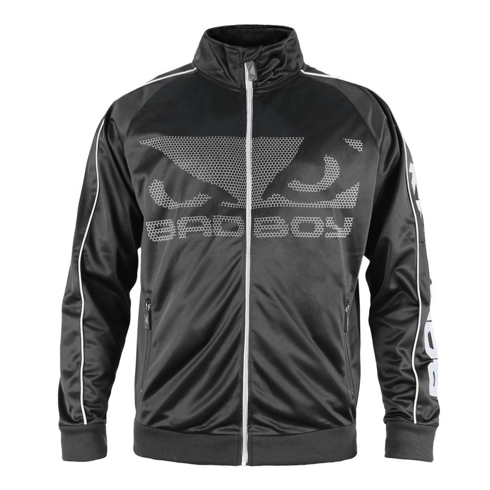 Купить Олимпийка Bad Boy All Around Track Jacket - Black/Grey, 4266_bk_gy