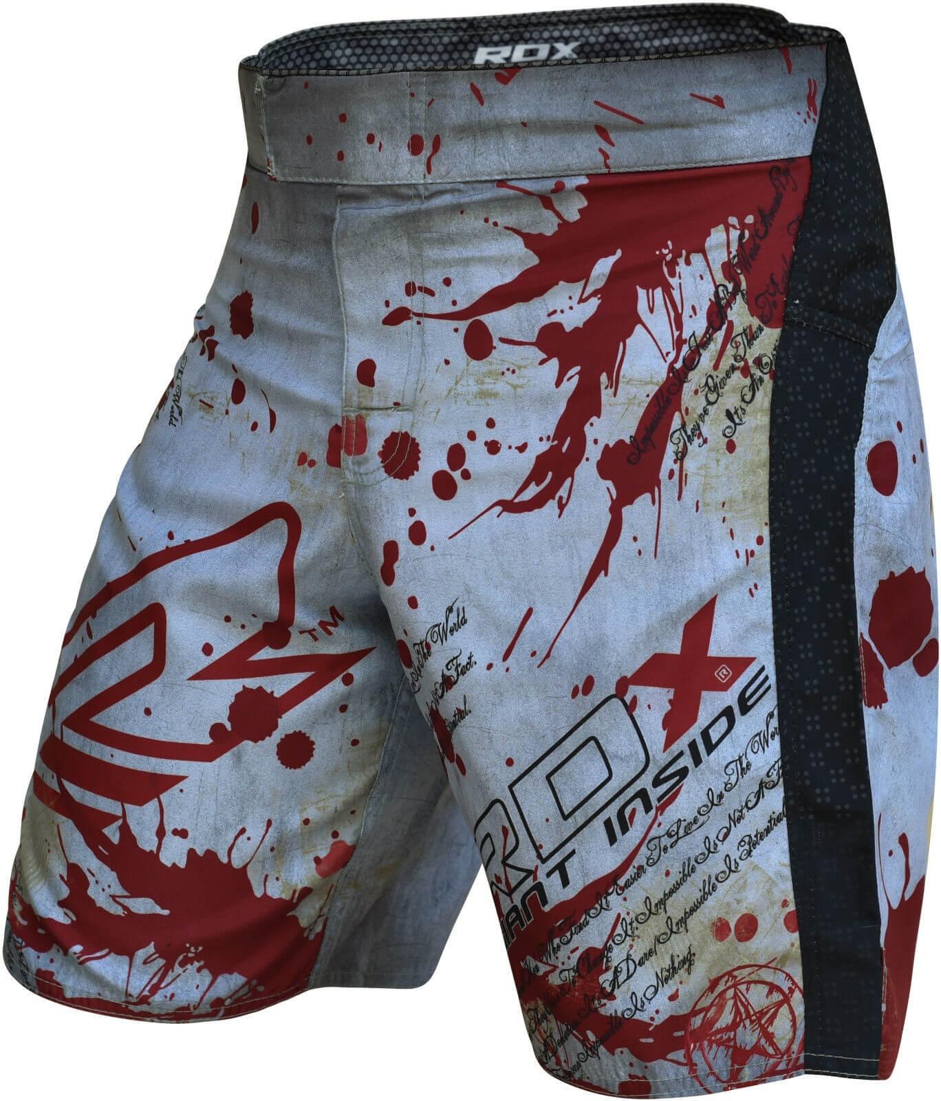 Купить Шорты RDX MMA Grappling Shorts Revenge Series Blood, 6152_wh_rd