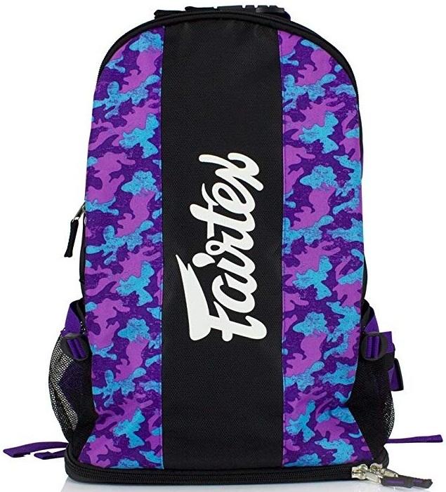 Купить Рюкзак Fairtex Backpack BAG4 Purple Camo, 5104_pr_cm