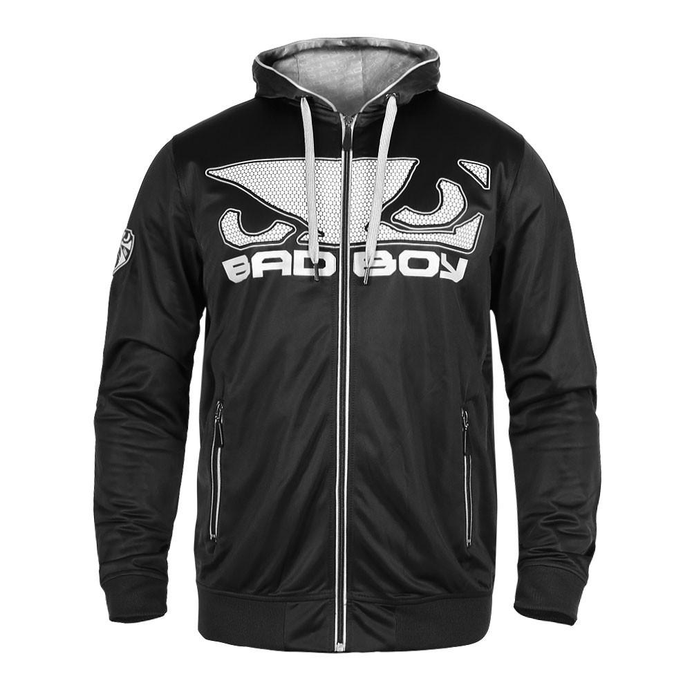 Купить Олимпийка Bad Boy Dynamic Hoodie - Black/Grey, 4265_bk_gy