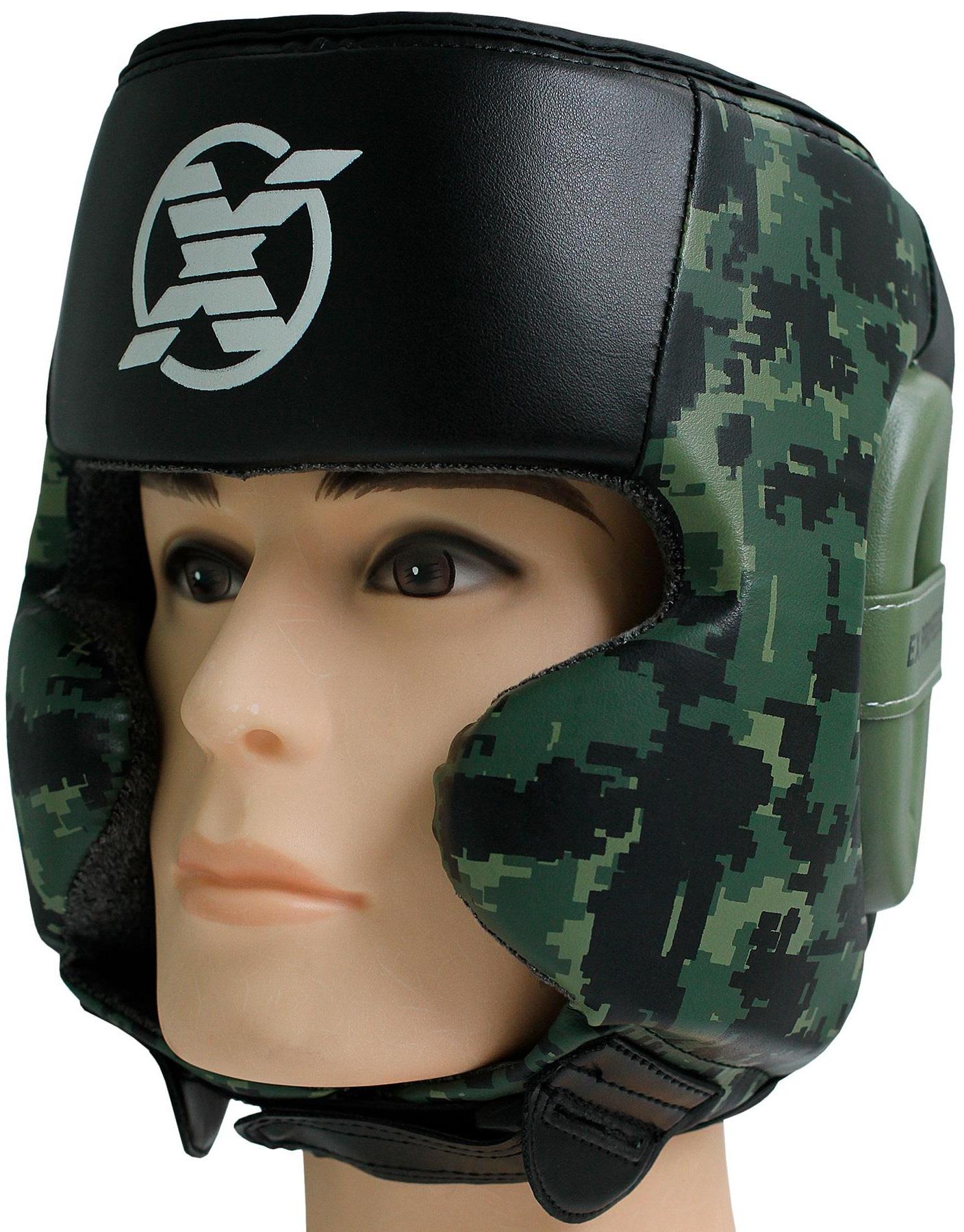 Купить Шлем Fight Expert Military Green Camo, 6700_cm