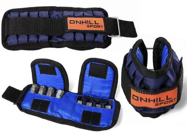 Купить Чехол утяжелителя для рук Onhillsport Blue, 5976_bl
