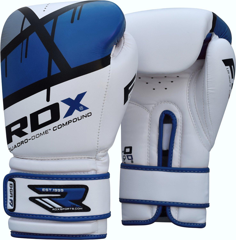 Купить Перчатки для бокса RDX Уценка (10), 5459_wh_bl