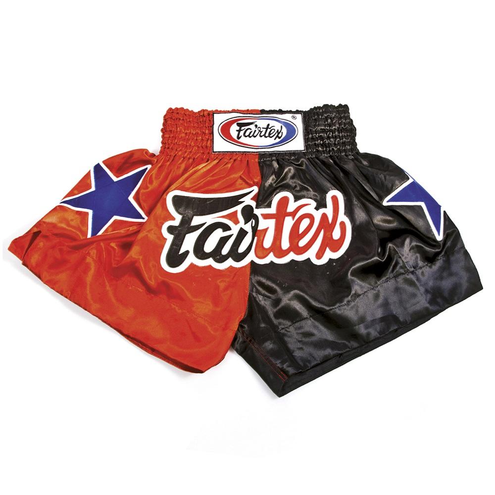 Купить Шорты Fairtex Muaythai Shorts BS85 Red/Black, 5086_rd_bk