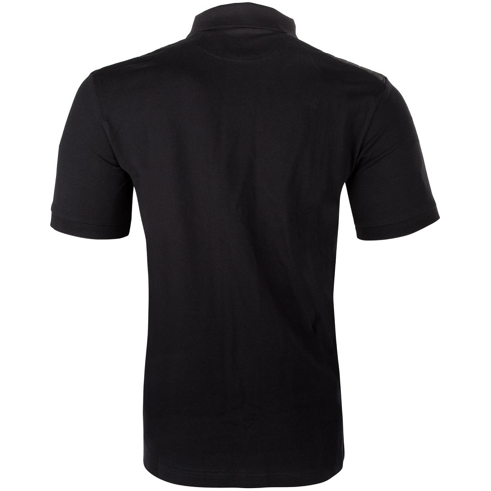 Футболка Venum Laser Polo - Black фото 4