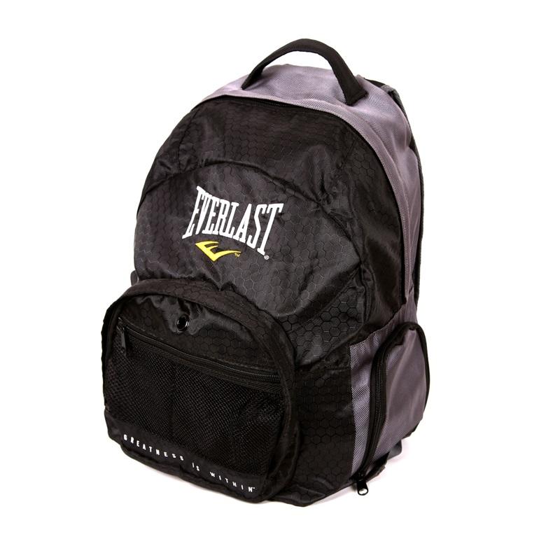 Купить Рюкзак Everlast Back Pack Black/Grey, 5824_bk_gy