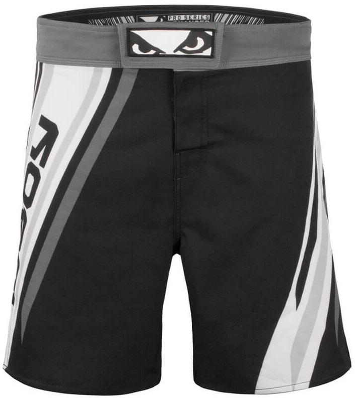 Купить Шорты для MMA Bad Boy Pro Series Advanced Black/White, 5673_bk_wh