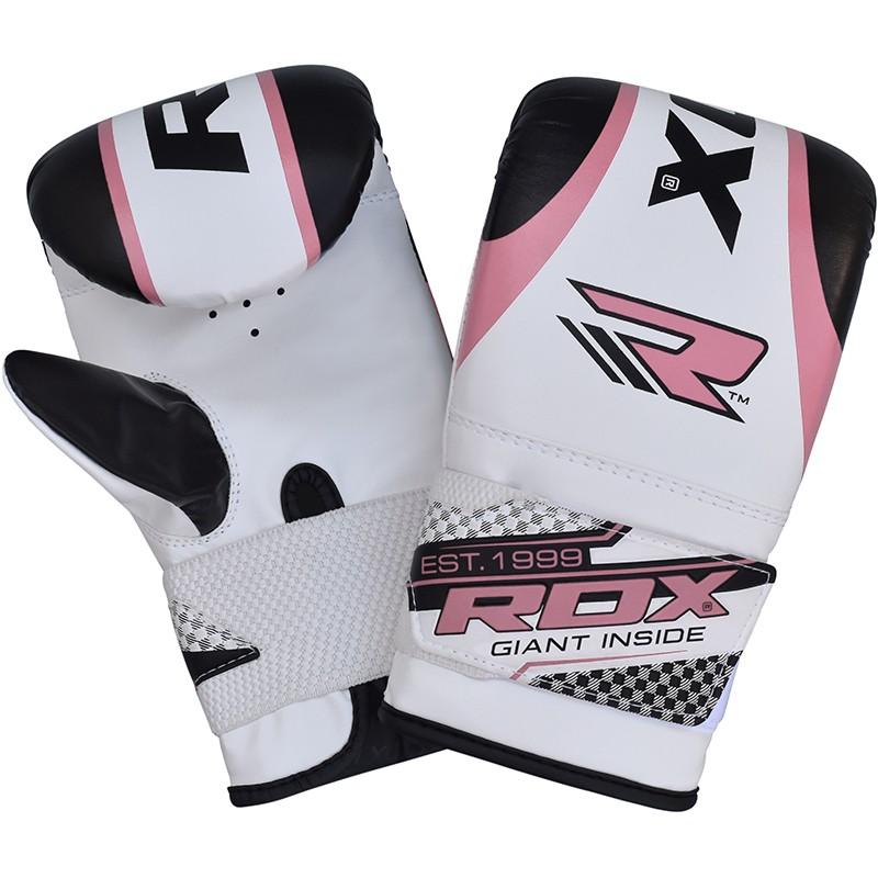 Купить Перчатки женские RDX Gel Girls MMA Boxing Gloves Pink/White , 9287_wh_pk