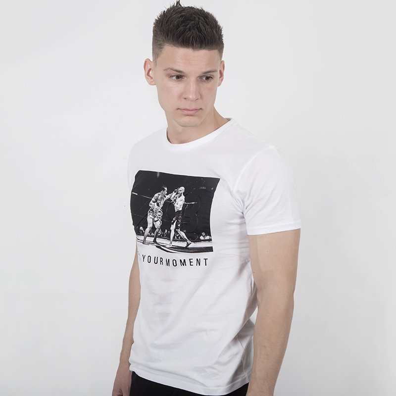 Футболка Iamfighter ACB Borz casual T-shirt White