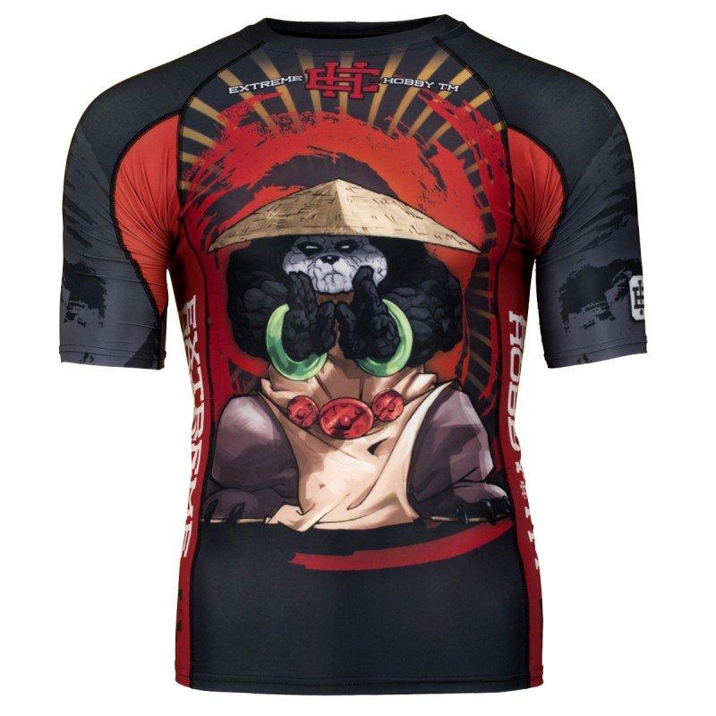 Купить Рашгард Extreme Hobby Panda Short Sleeve - Black, 5906_bk