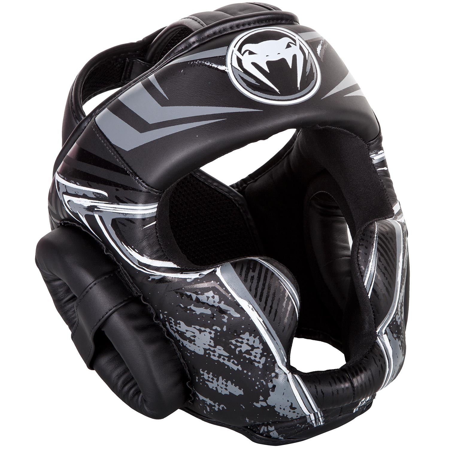 Купить Шлем Venum Gladiator 3.0 Headgear - BlackWhite, 4936_bk_gy