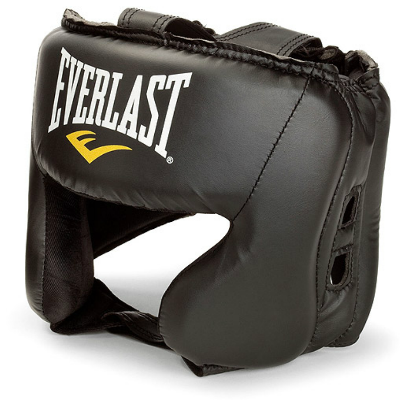 Купить Шлем Everlast Durahide Black, 5848_bk