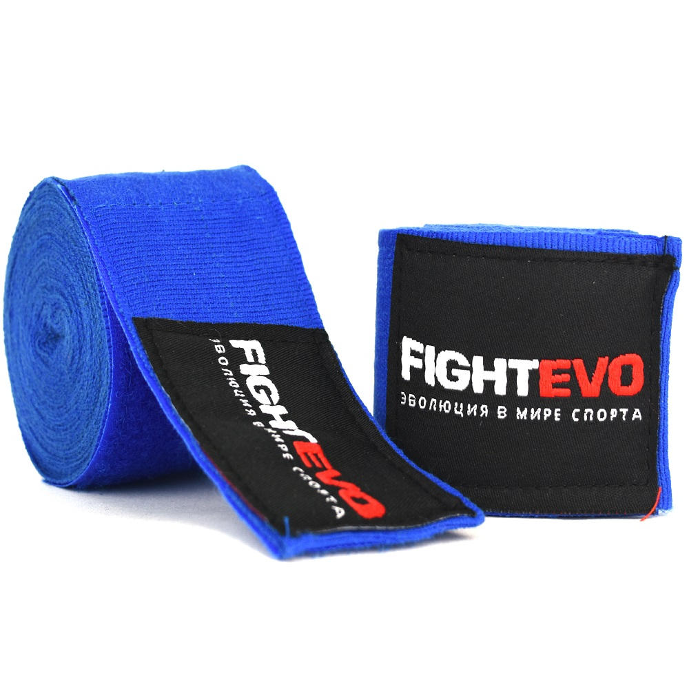 Бинты для бокса  FightEvo 5m Blue