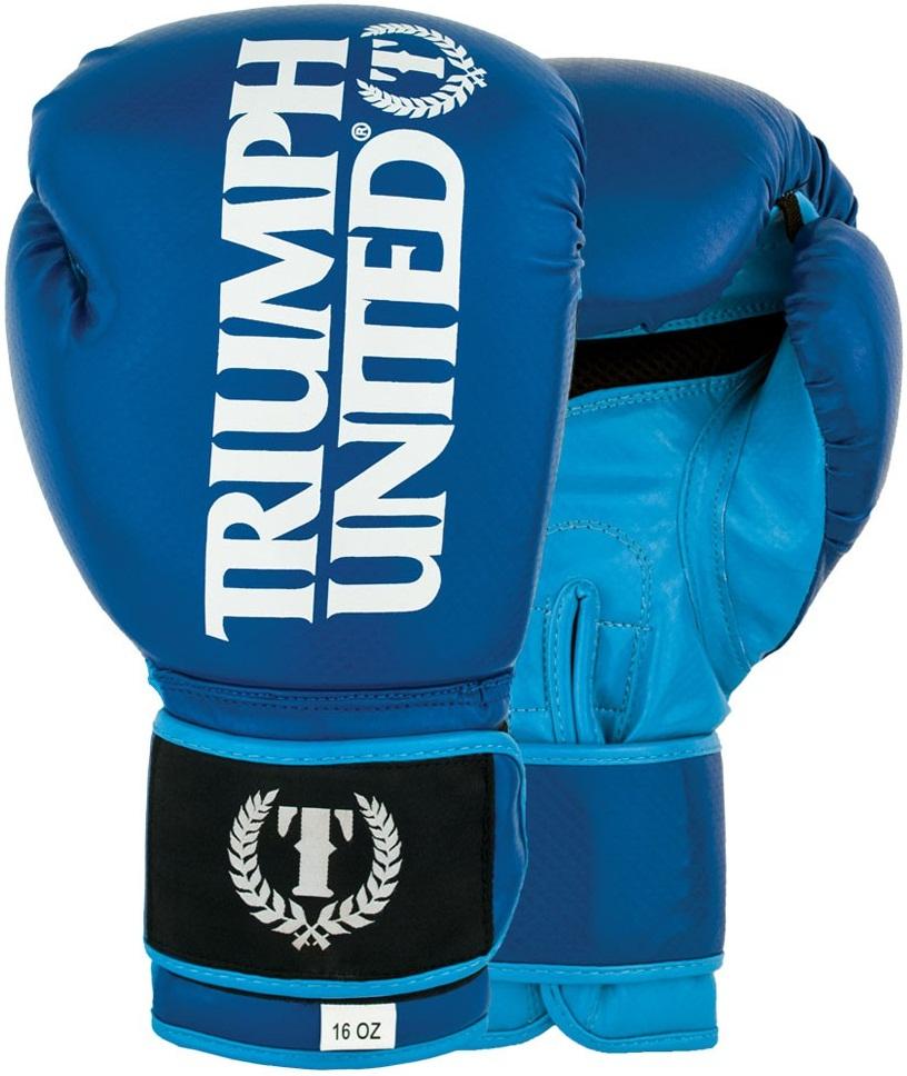 Купить Перчатки боксерские Triumph United TBC Glove Blue, 6653_bl