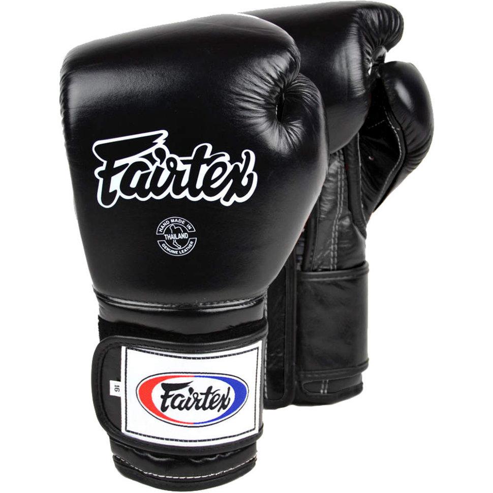 Купить Перчатки для бокса Fairtex Boxing gloves BGV9 Black, 5038_bk
