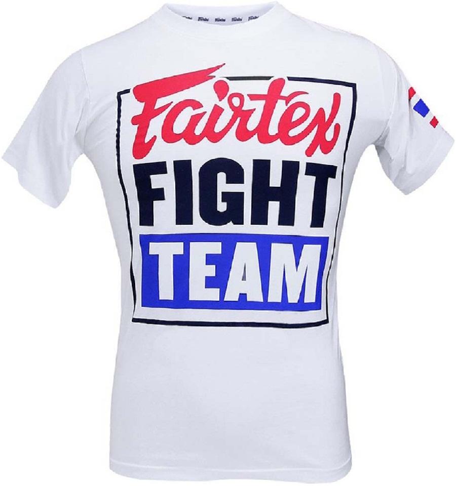 Купить Футболка Fairtex T-shirt TST51 White/Blue, 5098_wh_bl