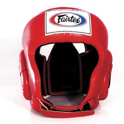 Купить Шлем Fairtex Headguard HG6 Red&, 5046_rd