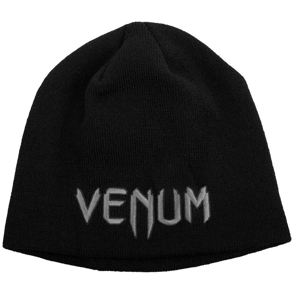 Купить Шапка Venum Classic Beanie - Black/Grey, 5221_bk_gy