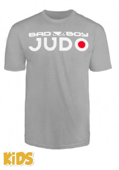 Купить Футболка детская Bad Boy Judo Discipline Youth T-shirt Grey&, 4764_gy