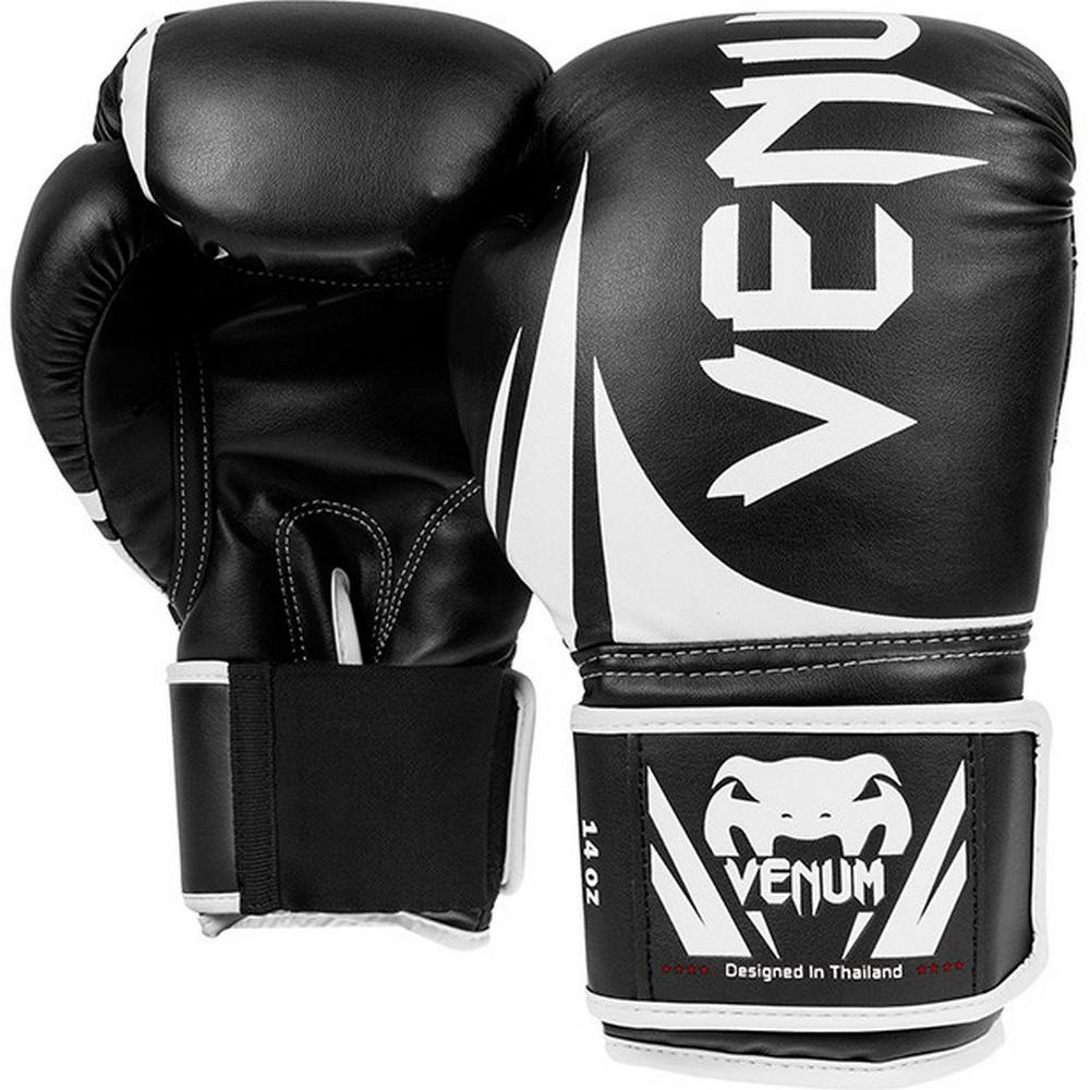 Купить Перчатки для бокса Venum Challenger 2.0 Boxing Gloves - Black, 4109_bk_wh