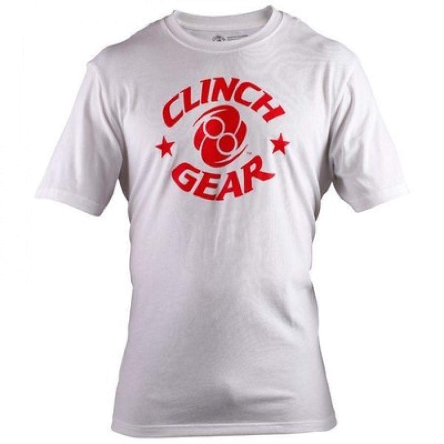 Купить Футболка Clinch Gear Icon Tee White, 6094_wh