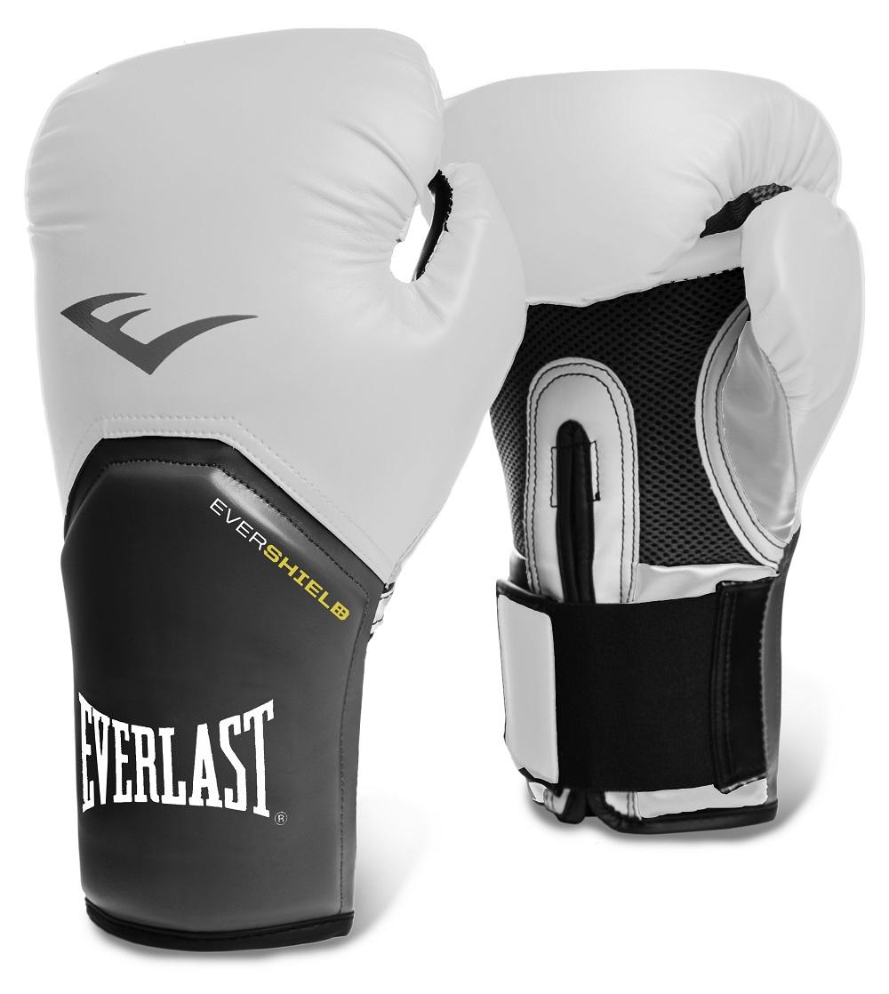 Купить Перчатки для бокса Everlast Pro Style Elite White, 5846_wh_gy