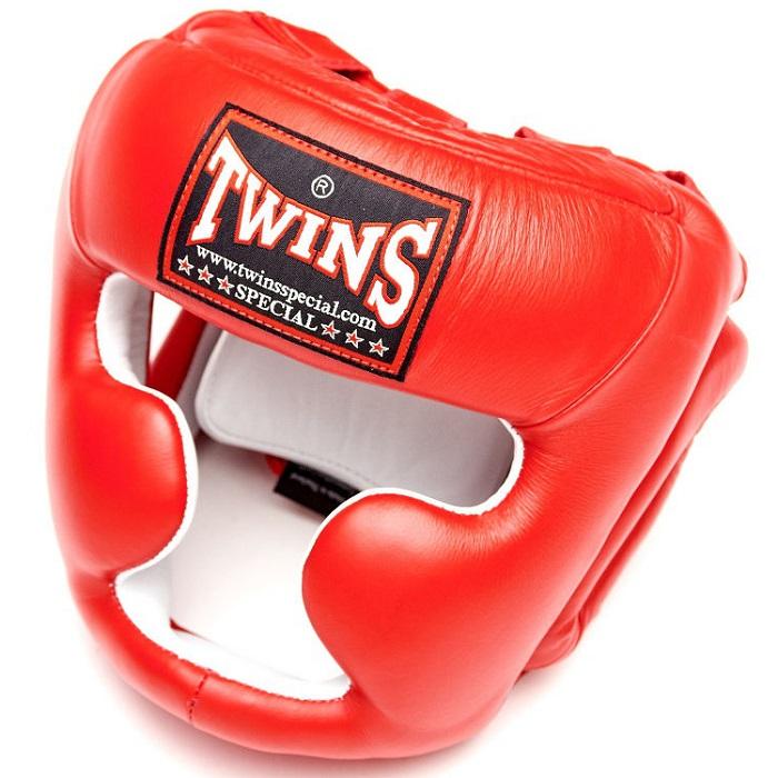 Купить Шлем Twins Special HGL-3 Headguard Red, 9921_rd