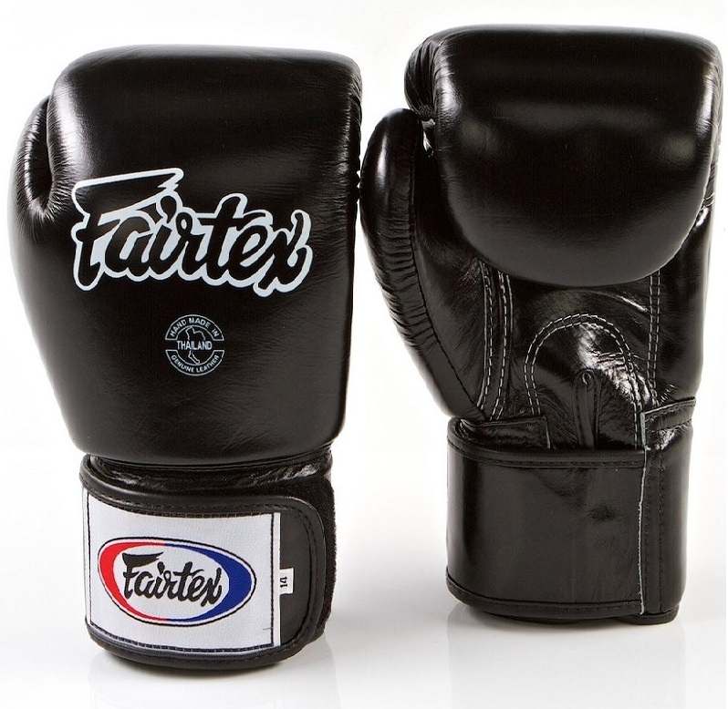 Купить Перчатки для бокса Fairtex Boxing gloves BGV1 Black, 5032_bk