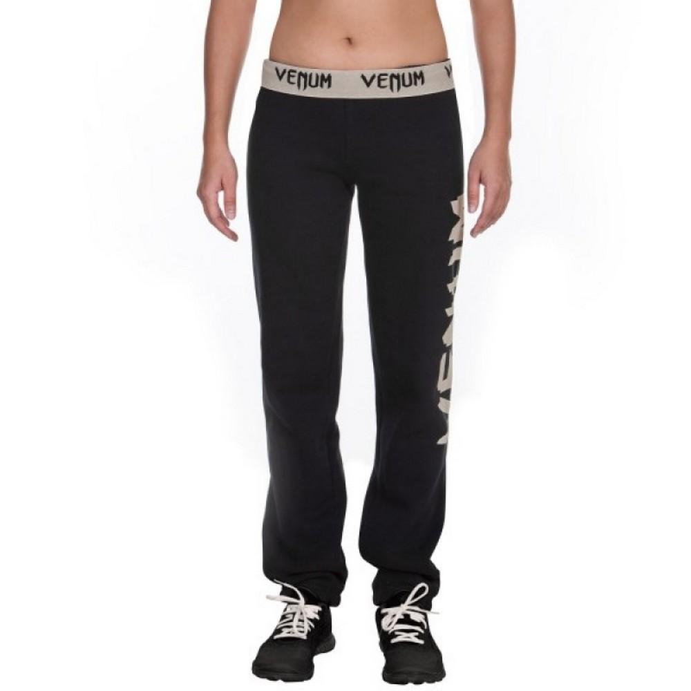 Купить Штаны женские Venum Infinity Pants Black/White For Women, 4089_bk_wh