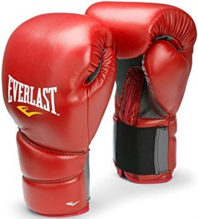 Купить Перчатки боксерские Everlast Protex2 Red, 6182_rd