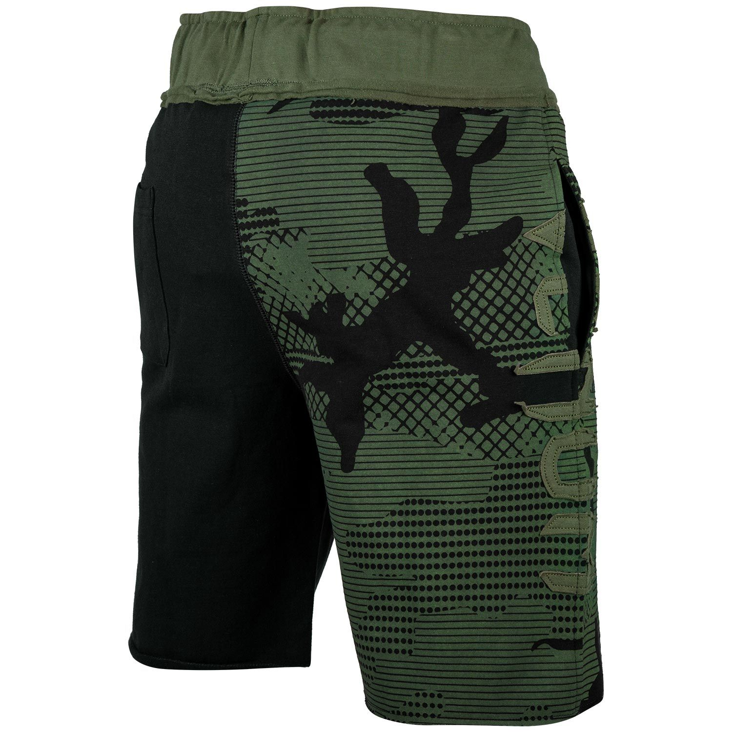 Шорты Venum Assault Cotton Shorts Khaki/Black фото 4