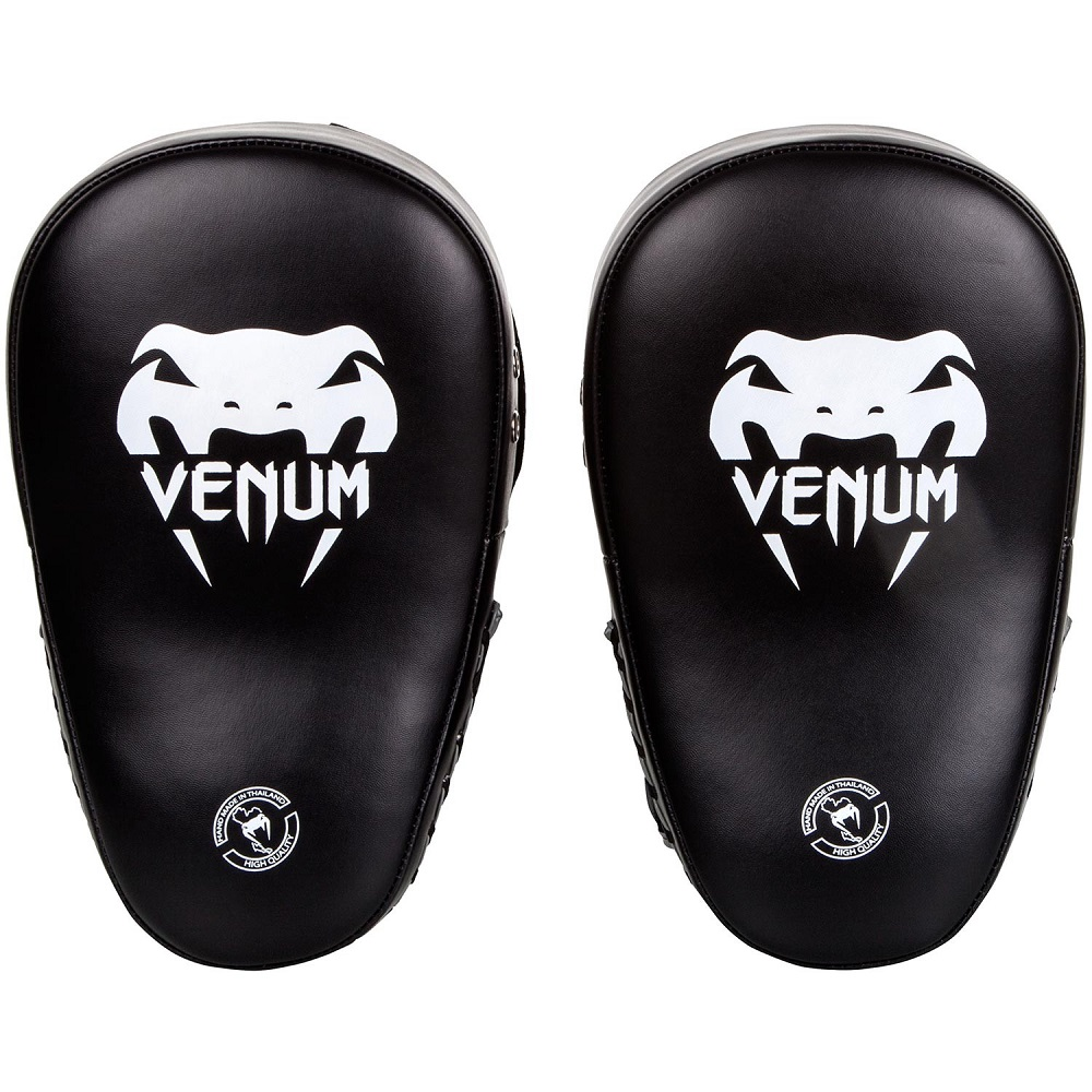 Купить Лапы Venum Elite Big Focus Mitts - BlackWhite 1 пара&, 4660_bk_wh
